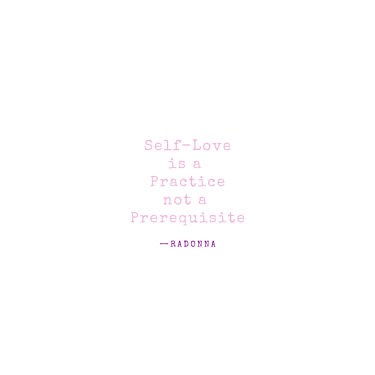 Love is a practice not a prerequisite